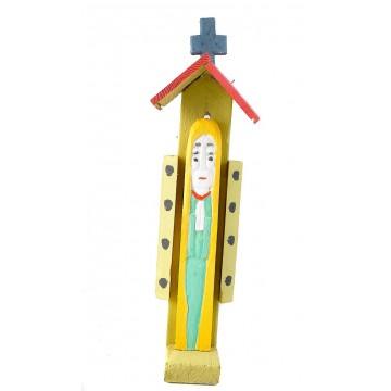 ludowa madonna - rzeźba kapliczka dionizego purty
