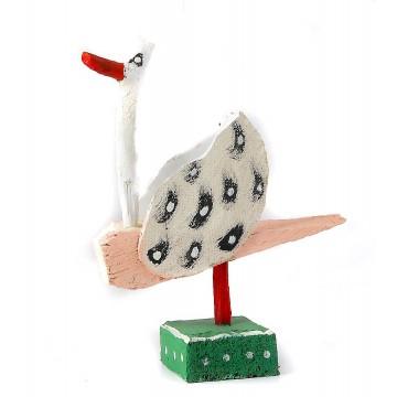ludowa rzeźba ptak purta 3