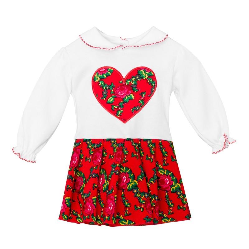 ludowe wzory sukienka dziecięca