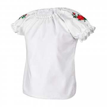 bluzeczka z ludowym haftem dla dziewczynki