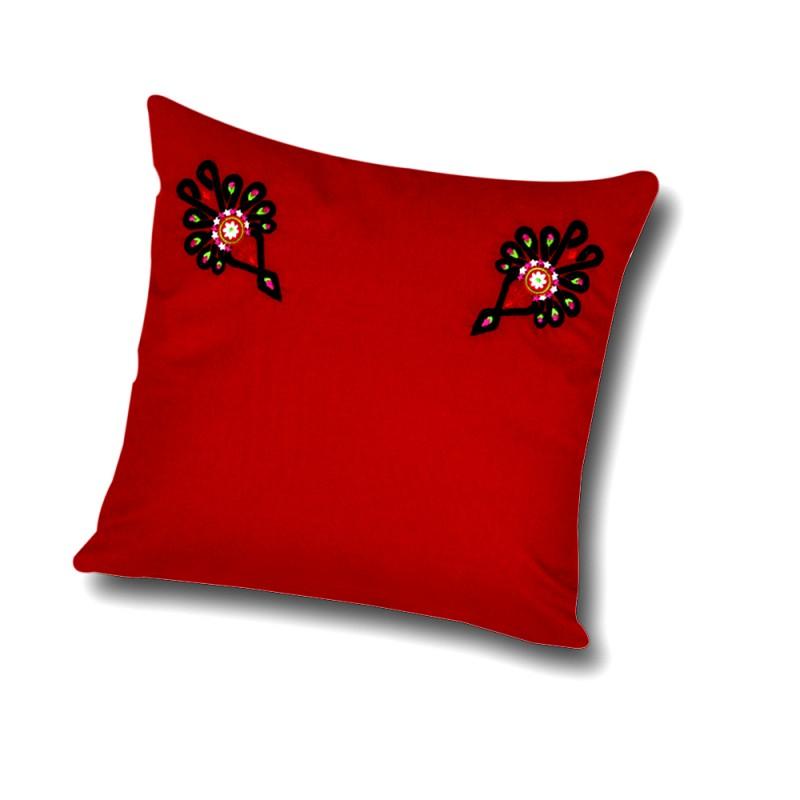 poduszka z ludowym haftem parzenica