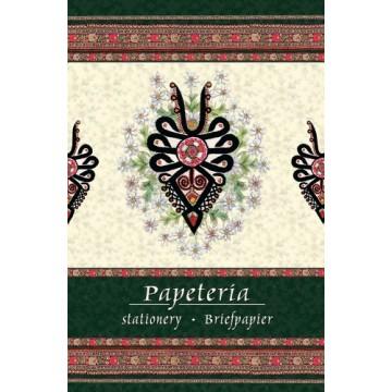 folk papeteria z parzenicą góralską