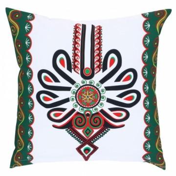 folk poduszka z parzenicą