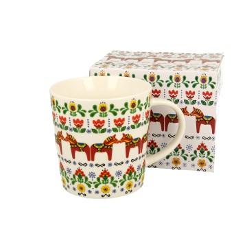 kubek latte folkowe koniki