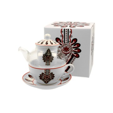 czajnik z filiżanką ludowa parzenica