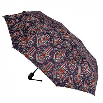folkowa parasolka z góralskimi parzenicami