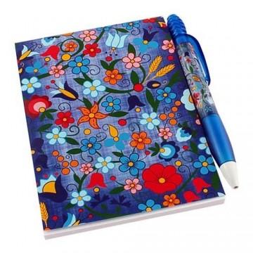 Zestaw notes kaszuby błękit