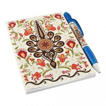 Zestaw notes parzenica w kwiatach