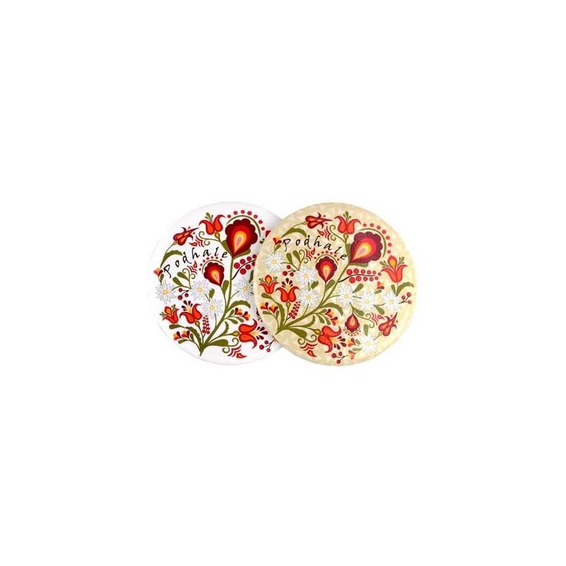 Lusterko kwiaty podhalańskie