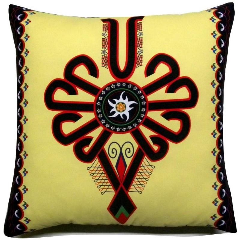 Poduszka folkowy ćwir