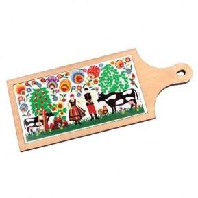 Deseczka ceramiczna kodra łowicka krowy