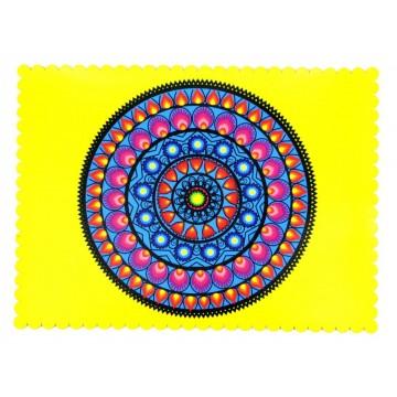 Podkładka wycinanka żółta