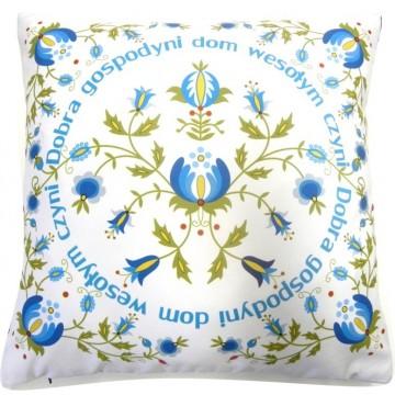 Poduszka kaszubska biała