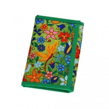 Folk portfel kaszuby zieleń mały