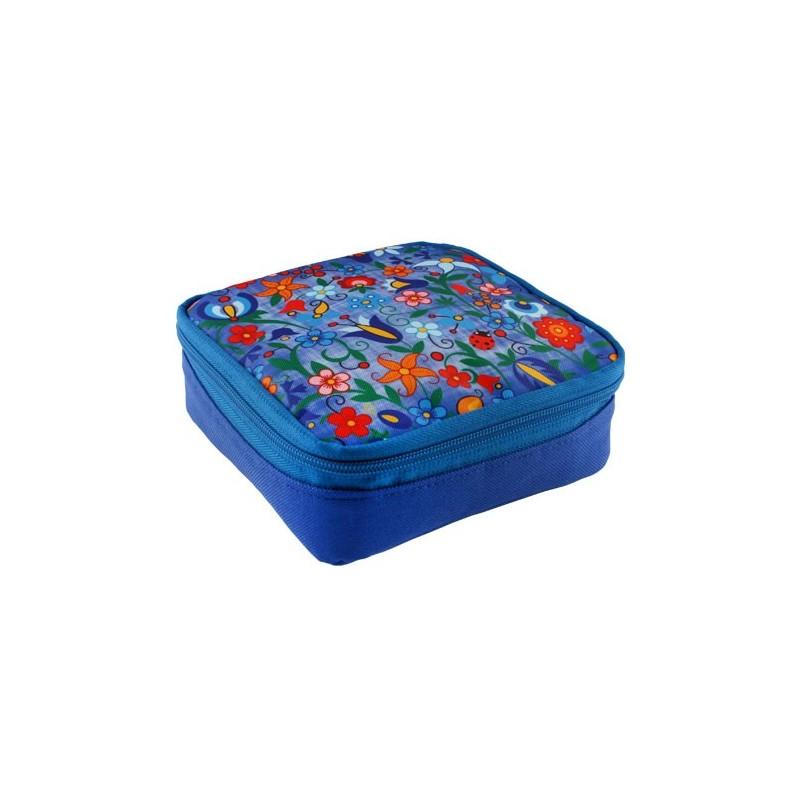 Folk śniadaniówka kaszuby błękit