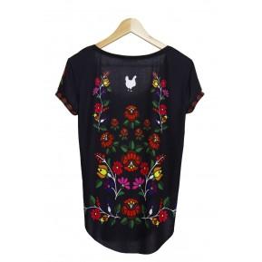 Koszulka black rose