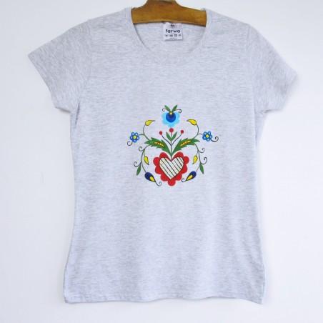 Malowana koszulka kaszuby