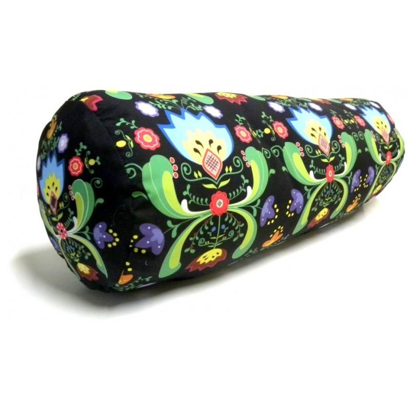 Poduszka kwiaty folk