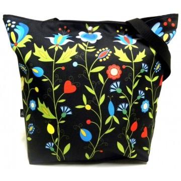 Folk torba kaszubska łąka
