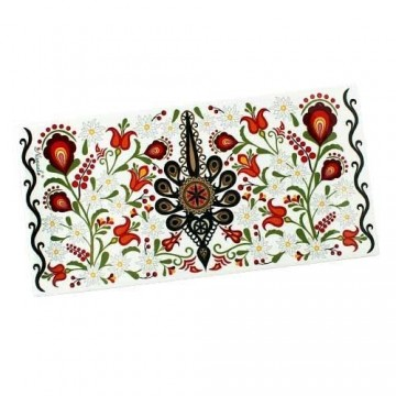 Dekor rozeta - kwiaty podhalańskie