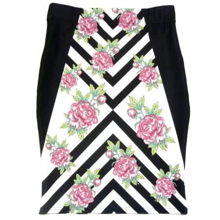 Folk spódnica róże