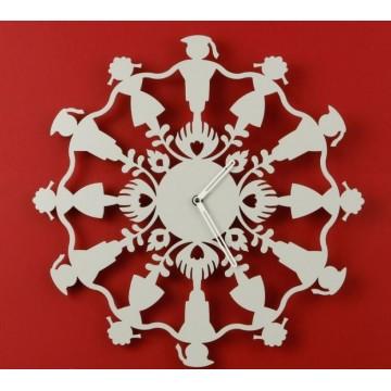 Zegar polski folk krakowiacy