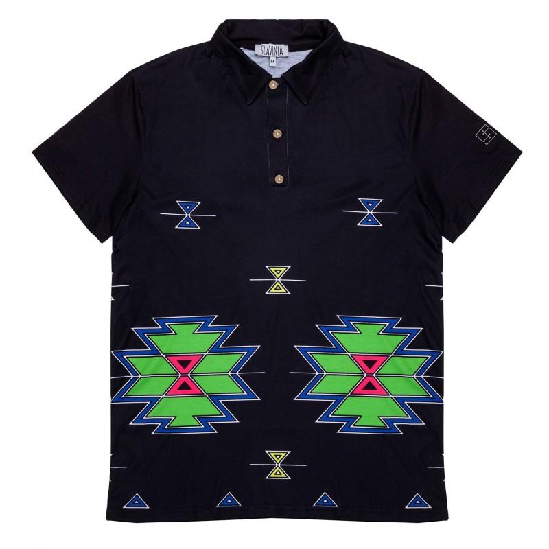 Koszulka męska polo trojan