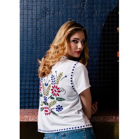 Folkowa koszulka dziewanna II