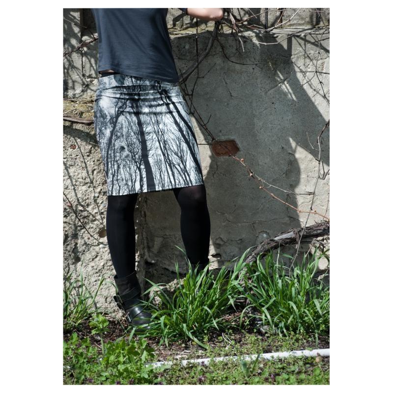 Folk spódnica brzozy