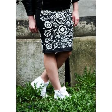 Folk spódnica kwiaty łowicz
