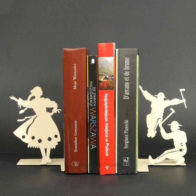 Podpórka do książek górale