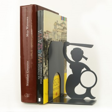 Podpórka do książek syrenka