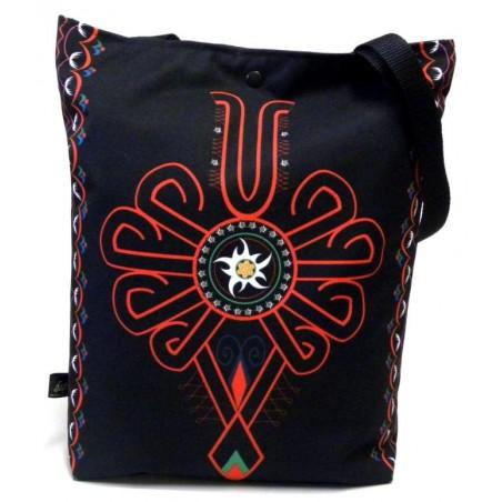 Folk torba parzenica czarna