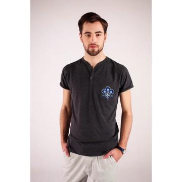 T-shirt grafit haft góralski - Podhale