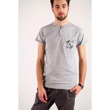 T-shirt kaszubski haft