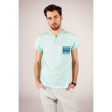 T-shirt mięta haft lubelski