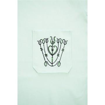 T-shirt mięta haft spiski