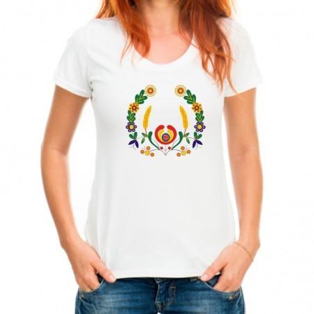 Folk koszulka Kociewie rak