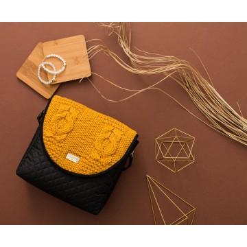 Torebka puro 1335 mustard sweater