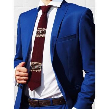 Folk krawat haft łódzki