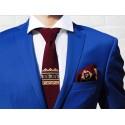 Krawat haft łódzki