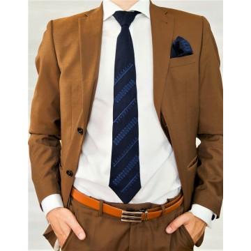 Folk krawat i spinki  haft biłgorajski