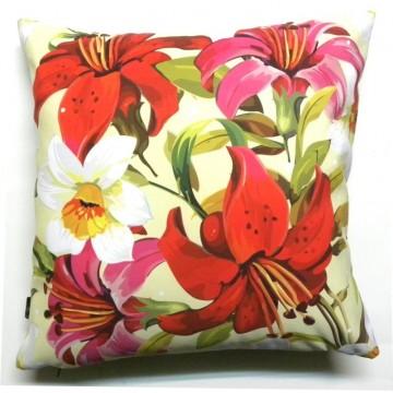 Poduszka wiejskie lilie