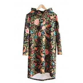 Sukienka z kapturem ptaszyna