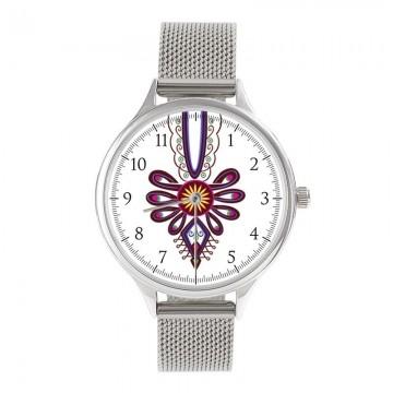 Zegarek z bransoletką góralski folk