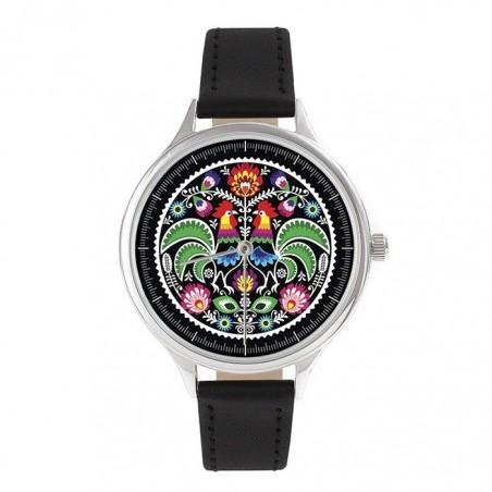 Zegarek na rękę łowicki folk 2