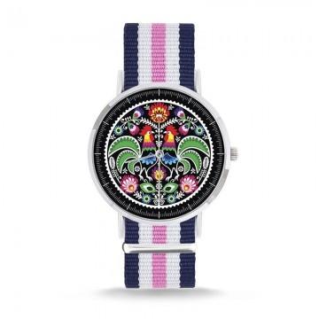 Zegarek łowicki 2 pasek Nato