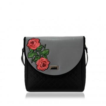 Torebka puro gray roses