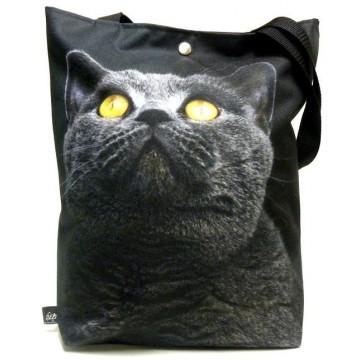 Torba wiejskie klimaty czarny kot