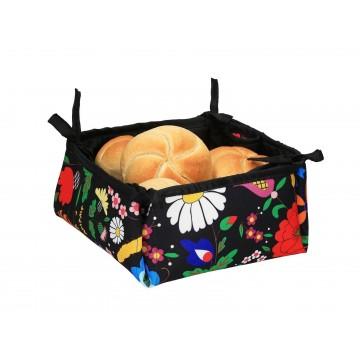 Folkowy koszyk na pieczywo Kociewie